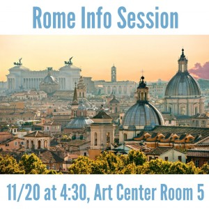 Rome Info Session
